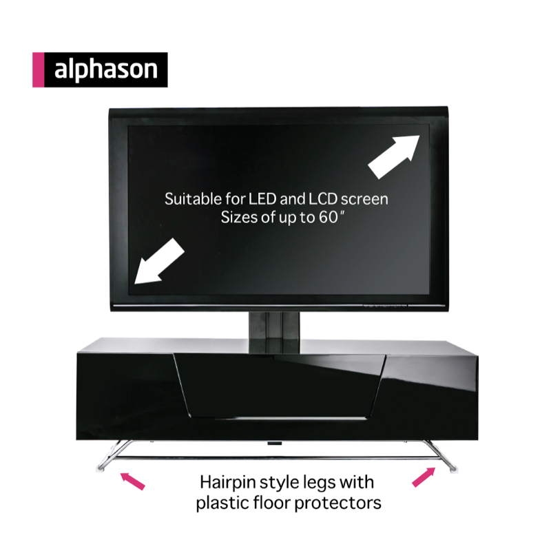 Alphason Chromium 2 1200mm with Bracket