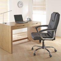 Alphason Houston Leather Chair