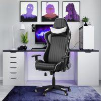 Alphason Senna Faux Leather Chair