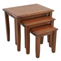 Ancient Mariner Furniture Nest of Tables with Plain Leg