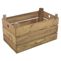 Ancient Mariner Furniture Polished Wooden Crate