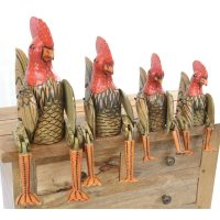 Ancient Mariner Furniture Set of 4 Sitting Chickens