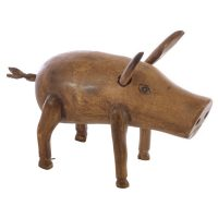 Ancient Mariner Furniture Small Wooden Pig