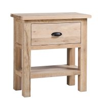 Besp-Oak 1 Drawer Console Table