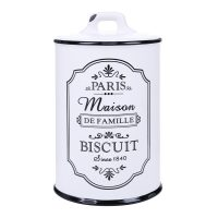 Besp-Oak 8inch Biscuit Canister