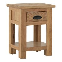 Besp-Oak Bedside Table with a Drawer