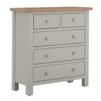 Besp-Oak Chest of Drawers