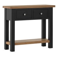 Besp-Oak Coffee Table with 2 Drawers