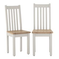 Besp-Oak Dining Chair with Timber seat