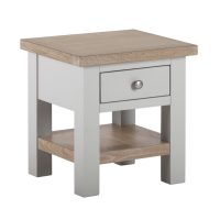 Besp-Oak Side Table with Drawer