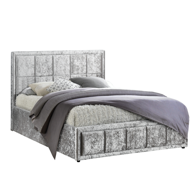 Birlea Hannover Fabric Ottoman 4ft 6in Double Bed Frame