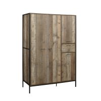 Birlea Urban 4 Door Wardrobe