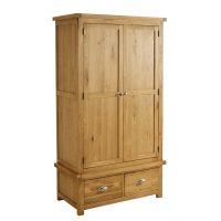 Birlea Woburn 2 Door 2 Drawer Wardrobe