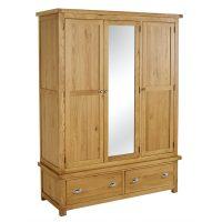 Birlea Woburn 3 Door 2 Drawer Wardrobe