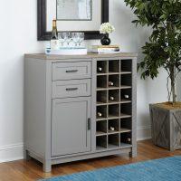 Dorel Carver Bar Cabinet
