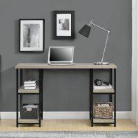 Dorel Elmwood Double Pedestal Desk