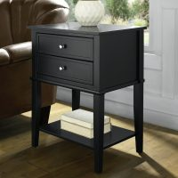 Dorel Franklin Accent Table with 2 Drawers