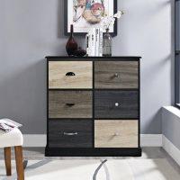 Dorel Mercer 6 Door Storage Cabinet