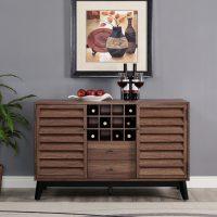 Dorel Vaughn Wine Cabinet