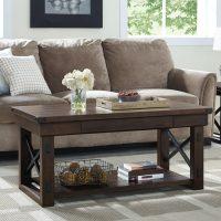 Dorel Wildwood Veneer Coffee Table