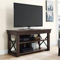 """Dorel Wildwood Wood Veneer TV Stand (50"""")"""