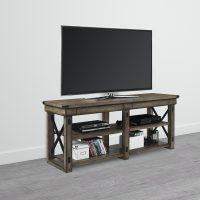 """Dorel Wildwood Wood Veneer TV Stand (65"""")"""