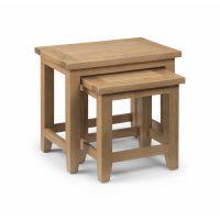 Julian Bowen Astoria Nest Of Tables in Oak