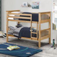 Julian Bowen Barcelona Bunk Bed in Solid Pine