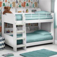 Julian Bowen Domino Bunk Bed in Stone White
