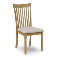 Julian Bowen Ibsen Dining Chair in Light Oak