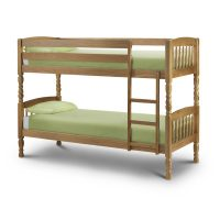 Julian Bowen Lincoln Bunk Bed in Antique
