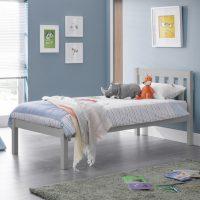 Julian Bowen Luna Bed in Dove Grey