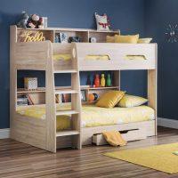 Julian Bowen Orion Bunk Bed in Sonoma Oak