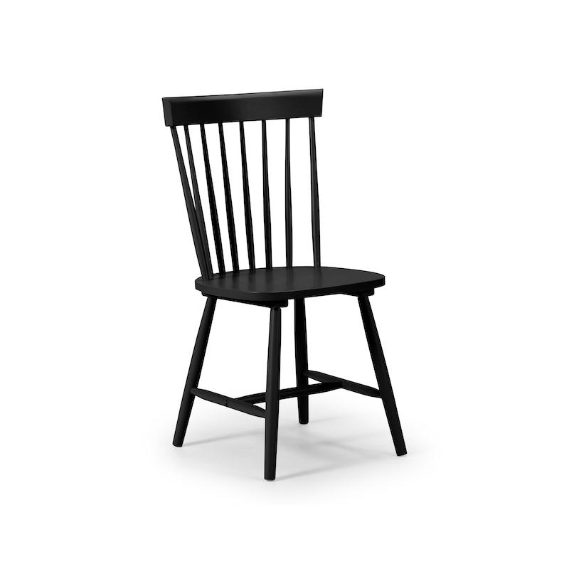 Julian Bowen Torino Dining Chair in Black
