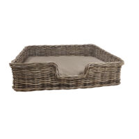 Home Essentials Wicker Dog Basket