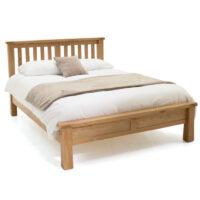 Vida Living Breeze Bed - 5ft Kingsize Low Footboard