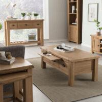 Vida Living Breeze Console Table