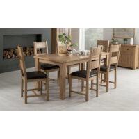 Vida Living Breeze Dining Chair - Brown