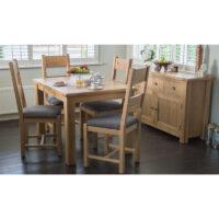 Vida Living Breeze Dining Chair - Grey