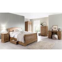 Vida Living Carmen Bed - 4ft 6in Double