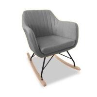 Vida Living Katell Rocking Chair - Light Grey