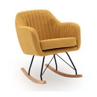 Vida Living Katell Rocking Chair - Mustard