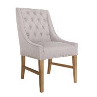 Vida Living Winchester Dining Chair - Buff Linen