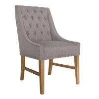 Vida Living Winchester Dining Chair - Truffle Linen