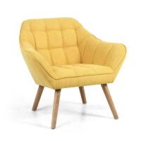 Coral Sunny Yellow Studio Chair