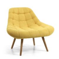 Shell Sunny Yellow Armchair